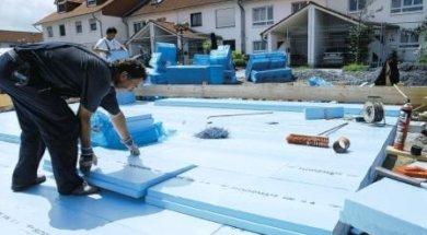 Plovoucí založení stavby na tepelné izolaci XPS