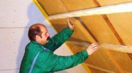 Přestavba půdy na podkroví: Krok č. 5 – zateplení střechy