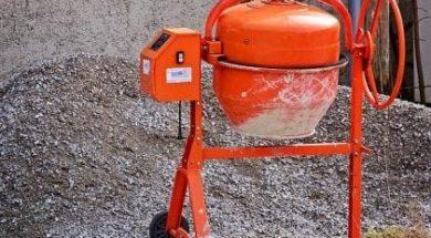 Jak namíchat beton?