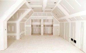 sádrokarton pro rekonstrukci podkroví