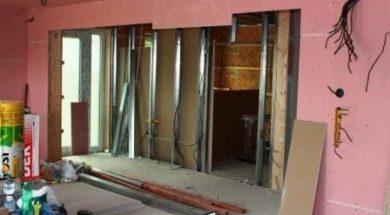 návod na stavbu sádrokartonové příčky svépomocí