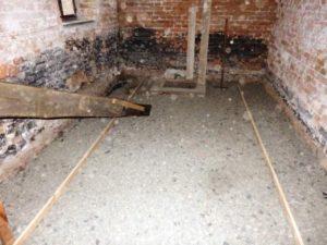 betonování podlahy svépomocí