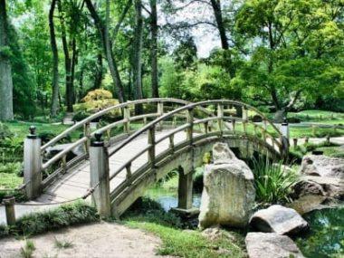 japonská zahrada a její prvky