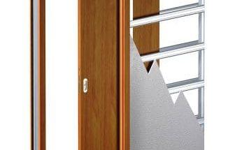 Konstrukce posuvných dveří