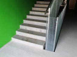 Základní rozměry schodiště