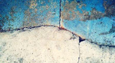 Oprava trhliny v betonové desce