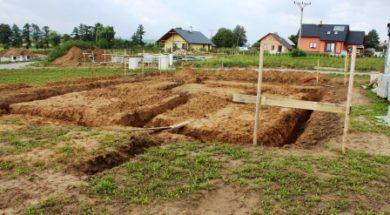 stavební lavičky – zaměření a vytyčení stavby
