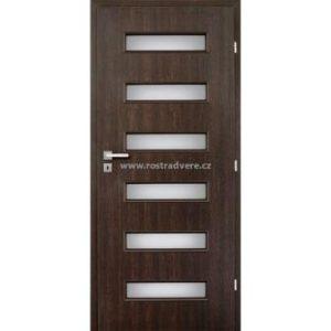 Interiérové dveře prosklené s laminátovou povrchovou úpravou