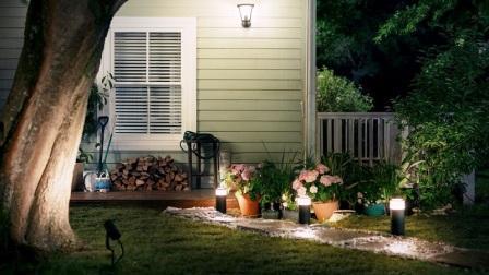 Chytré osvětlení Philips Hue Outdoor pro osvětlení zahrady