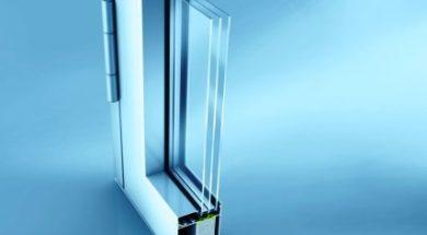 hliníkové vstupní dveře s izolačním trojsklem