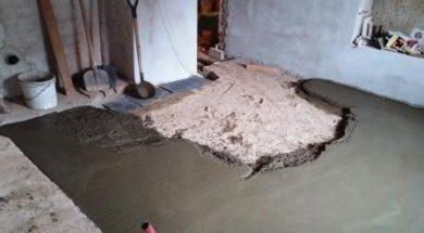 Betonová mazanina se používá pro betonování podlahy jako roznášení a podkladní vrstva pod podlahovou krytinu