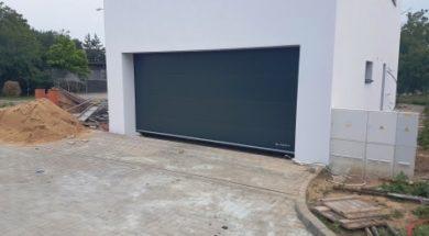 Sekční garážová vrata dnes převažují