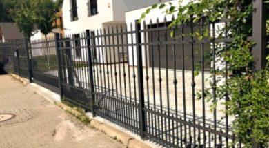 Kované ploty a brány Klatan