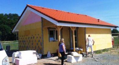 Montovaný dům – realizace firmy J. Group