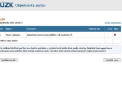 List vlastnictví lze získat on-line na stránkách cuzk.cz
