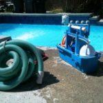 Postup zazimování bazénu