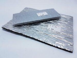 Odrazové fólie za radiátor mají tloušťku nejčastěji 2 - 4 mm