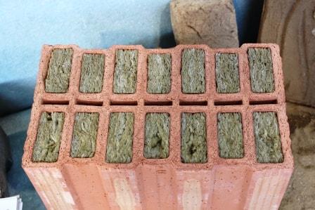 Zdicí materiály – keramická tvárnice s minerální vatou