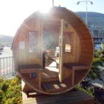 Sudová venkovní sauna