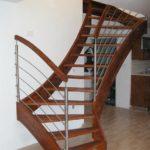 Samonosné dřevěné schody
