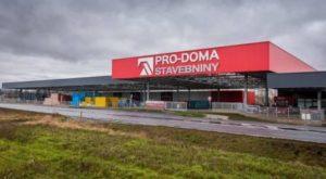 Prodejna stavebnin PRO-DOMA