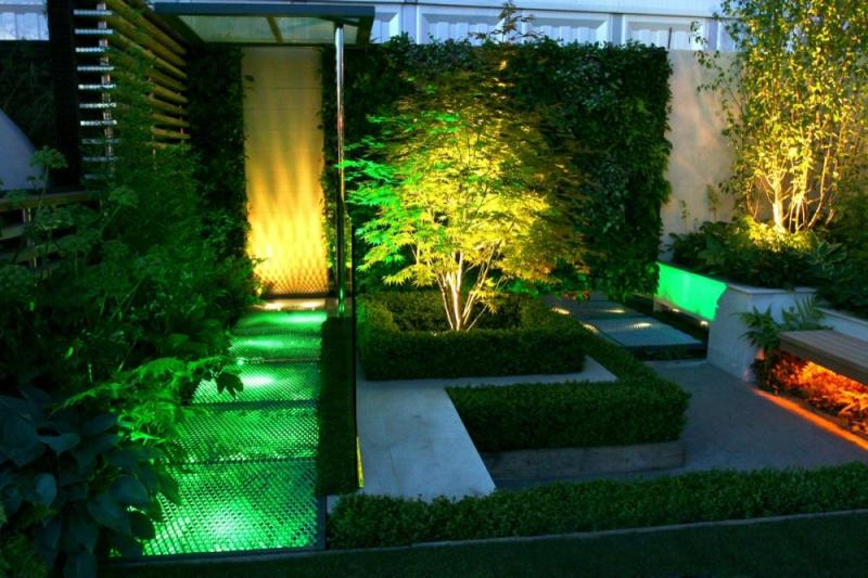 Tipy na osvětlení zahrady