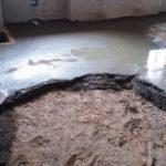 Vyrovnání podlahy betonovou mazaninou