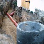 Stavba splaškové kanalizace - čistírna odpadních vod