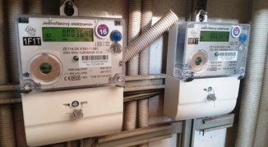 Pomocí HDO lze přepínat mezi jednotlivými elektroměry