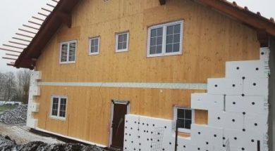 Zateplení fasády pěnovým polystyrenem