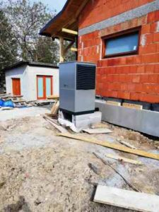 Montáž tepelného čerpadla vzduch-voda