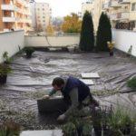 Realizace střešní zahrady