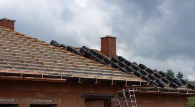Pojistná hydroizolace zamezí vniknutí vody do konstrukce střechy