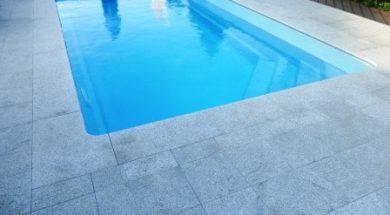 Venkovní zapuštěný bazén