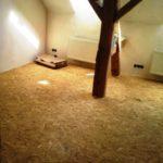 Rekonstrukce plovoucí podlahy - roznášecí vrstva z OSB desek