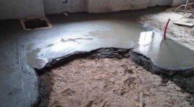 Cementový potěr lze použít nejen pro rekonstrukci staré podlahy