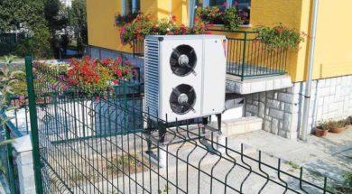Tepelné čerpadlo vzduch-voda – venkovní jednotka tepelného čerpadla