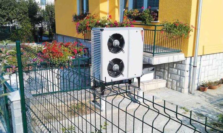 Tepelné čerpadlo vzduch-voda - venkovní jednotka tepelného čerpadla