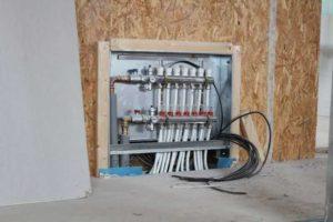 Podlahové topení - rozdělovač/sběrač