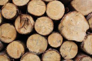 Topení dřevem - kulatina smrk