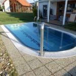 Stavba bazénu - ohlášení stavby, územní souhlas