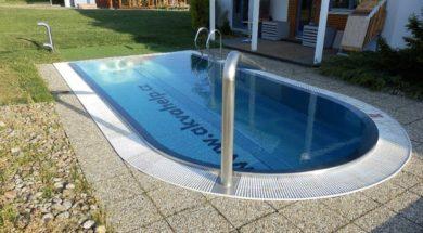 Stavba bazénu – ohlášení stavby, územní souhlas