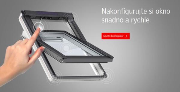 Konfigurátor střešních oken