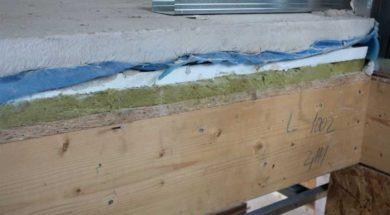 Anhydritová litá podlaha s podlahovým topením na kročejové izolaci