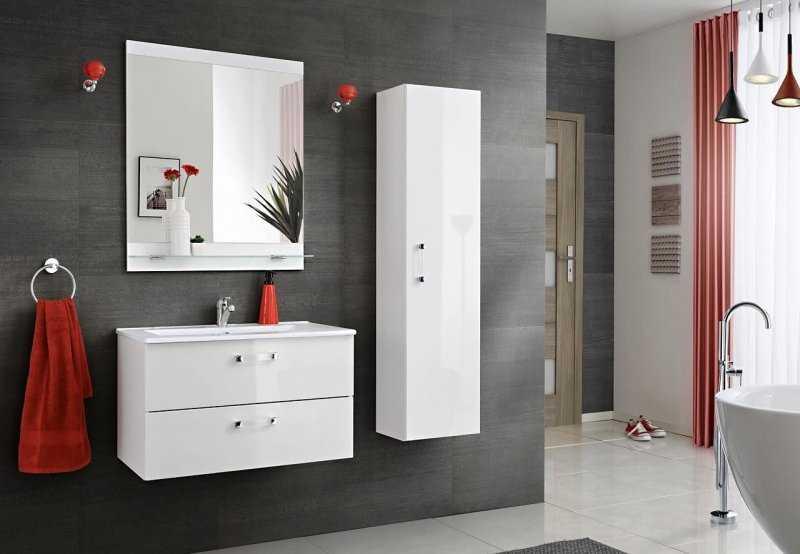 Vlhkost v bytě může zapříčinite bobtnání nábytku v koupelně, ale i v kuchyni.