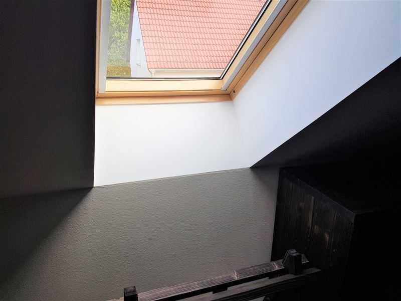 Nové okno v rámci rekonstrukce podkroví vyžaduje ohlášení stavby