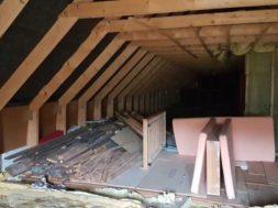 Rekonstrukce podkroví – ohlášení stavby, nebo stavební povolení