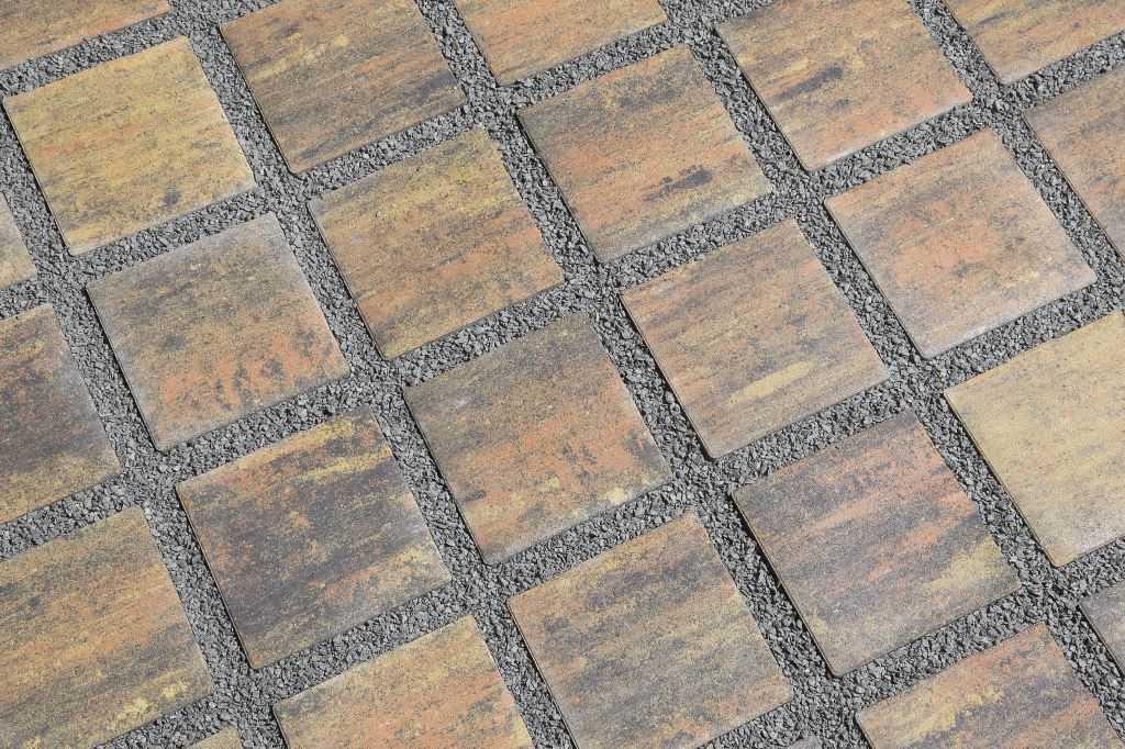 Zatravňovací betonová dlažba BEST-AKVAGRAS, barva colormix etna