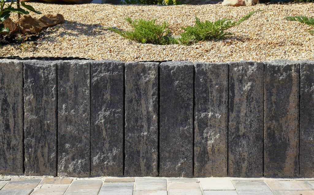 Betonová palisáda BEST-STONE, barva colormix briliant