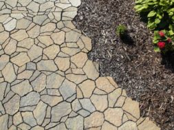 Betonová dlažba  BEST-SOLITERA, barva colormix etna – imitace přírodního kamene